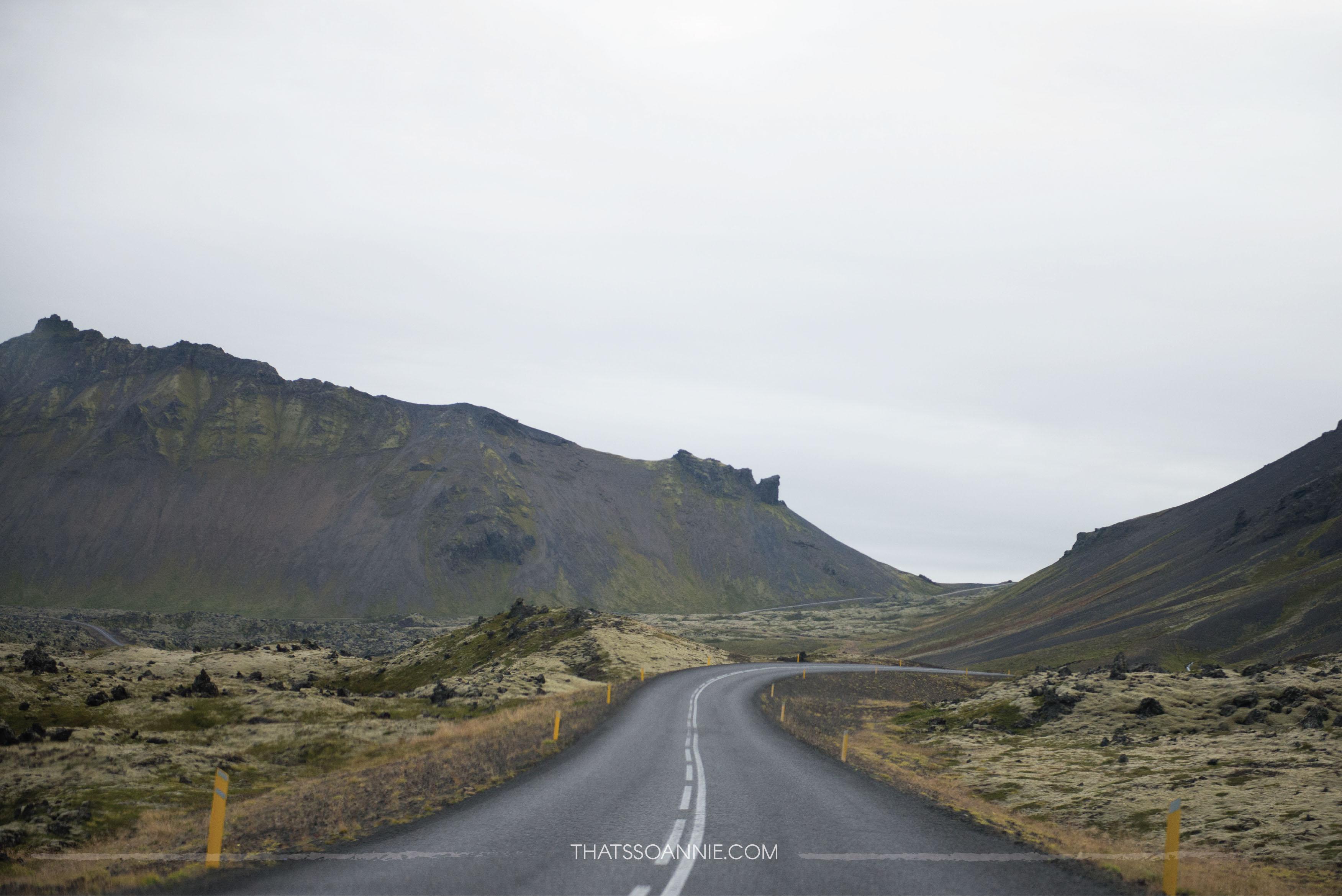 Making our way throughlava fields atSnæfellsjökull Exploring the Snæfellsnes Peninsula | Ring Road roadtrip, Iceland | www.thatssoannie.com