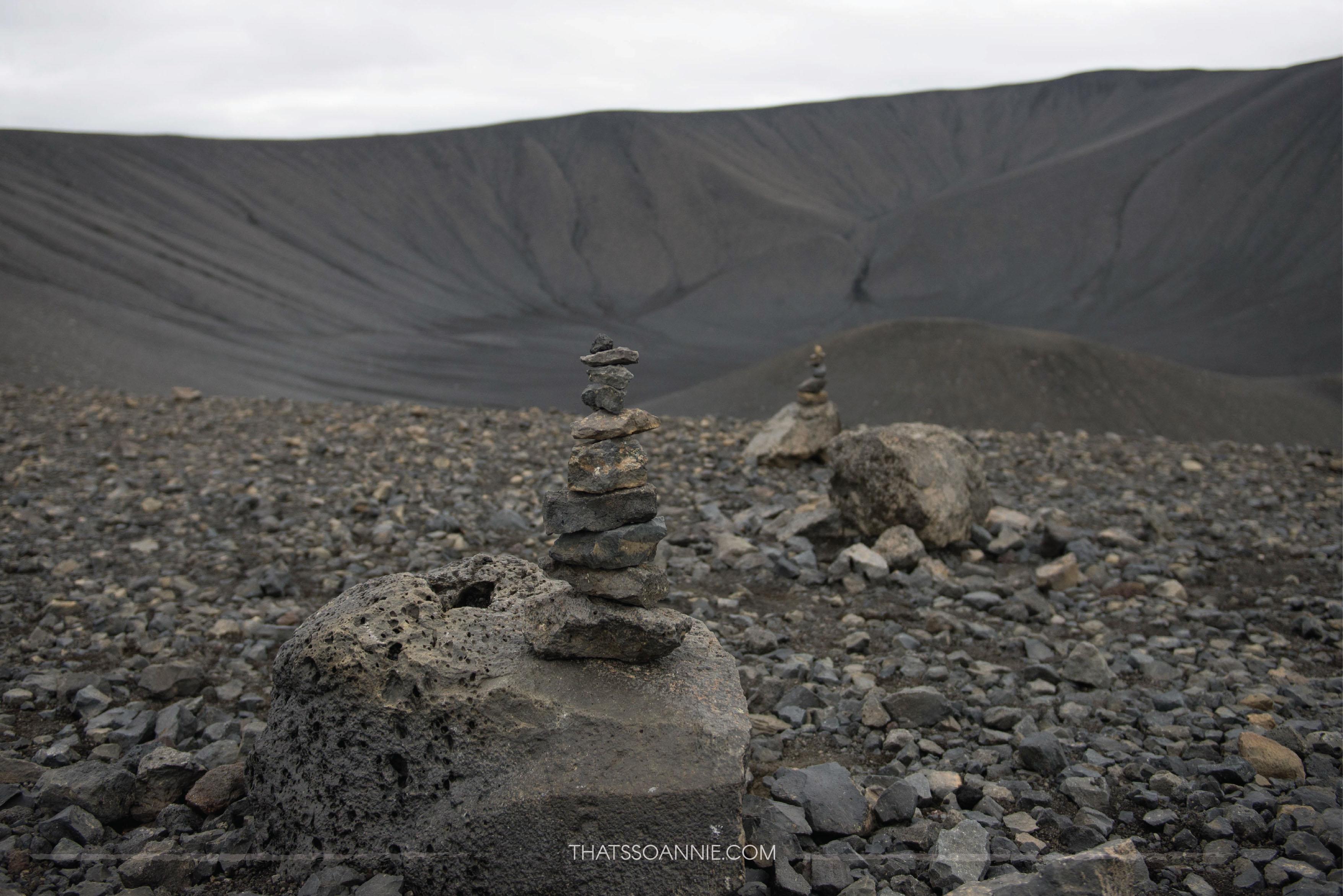 A peek inside the dead volcano Hverjfall